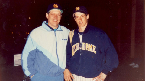 John and Craig Counsell are both Notre Dame graduates.