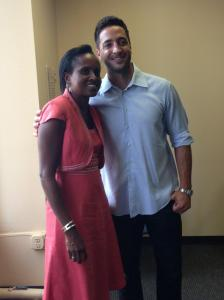 The AIDS Resource Center of Wisconsin posted photos of Ryan Braun's visit on its Twitter feed and Facebook.