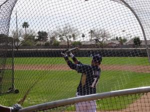 Aramis Ramirez in the cage